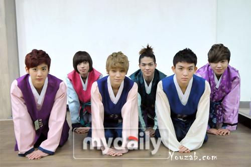 Teen Top Hanbok 2012