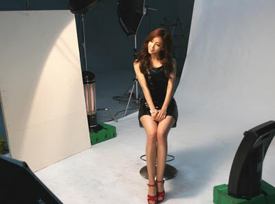 Hyomin Tony Moly Photoshoot