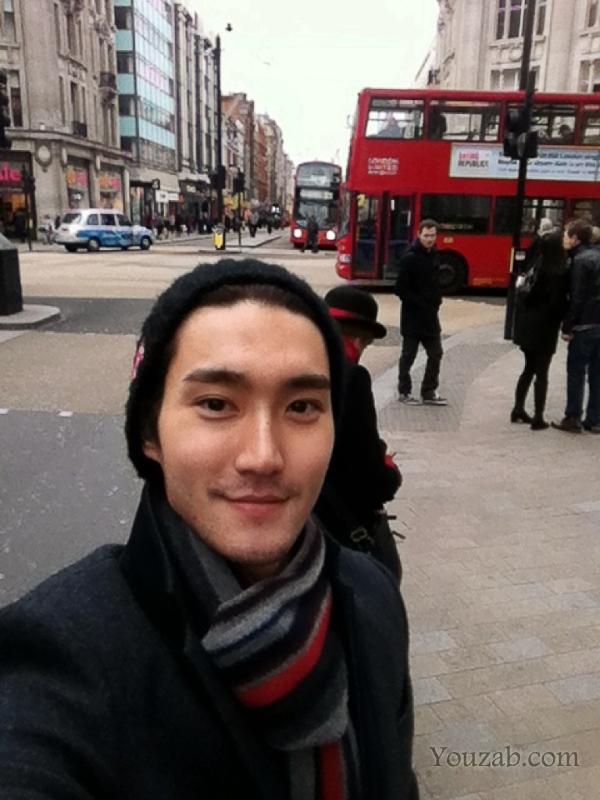 Siwon in London
