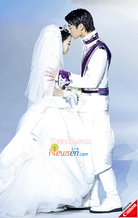 MinHo in Wedding Dress