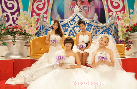 Sistar in Wedding Dress