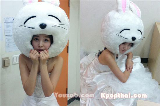 SeonHwa in Wedding Dress