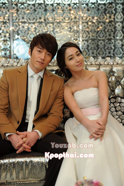 Lee Min Jung in Wedding Dress
