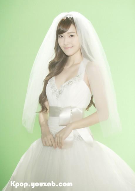 Jessica SNSD in Wedding Dress