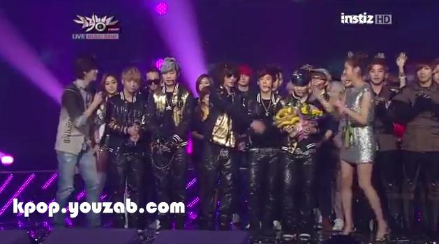 Teen Top Win Music Bank