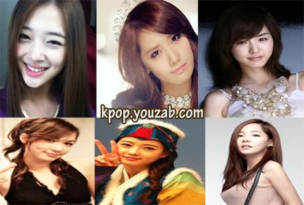 6 สาวที่สวยที่สุดในSM