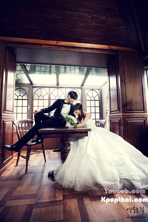 IU in Wedding Dress