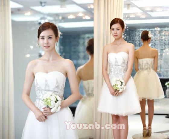 LeeDaHye in Wedding Dress