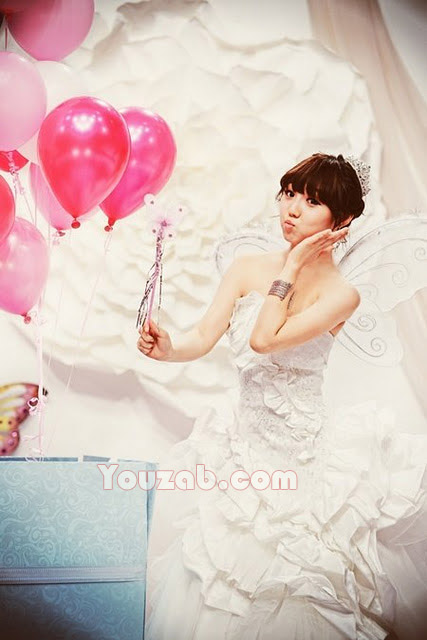 Min MissA Wedding Dress