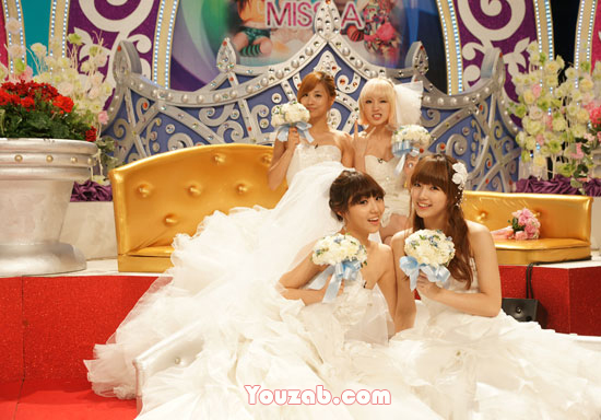 MissA in Wedding Dress