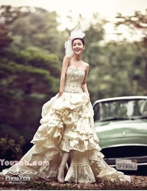 Nam Gyuri in Wedding Dress