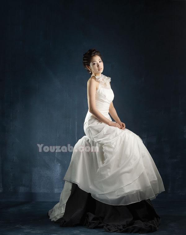 Park Shin Hye in Wedding Dress