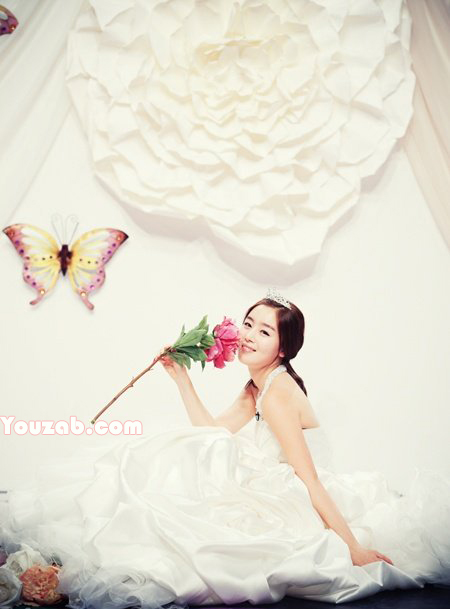 SeonHwa in Wedding Dress