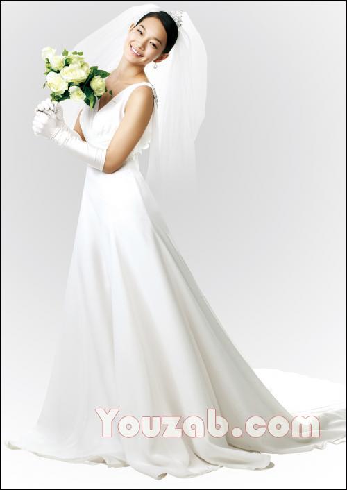 Shin Min Ah in Wedding Dress