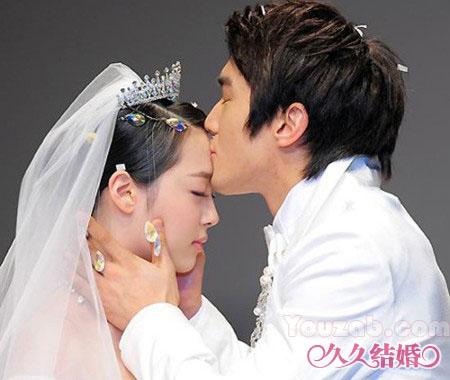 Siwon-Sulli in Wedding Dress