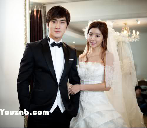 Siwon in Wedding Dress