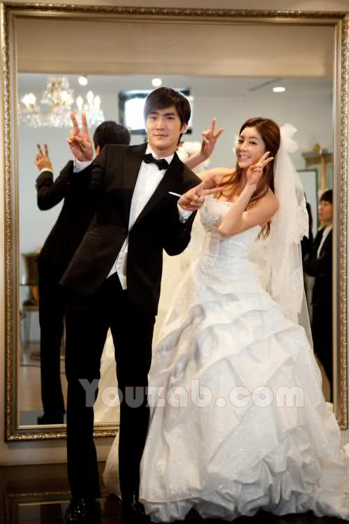 Siwon in Wedding Dress