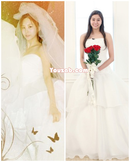 Seohyun-Uee in Wedding dress