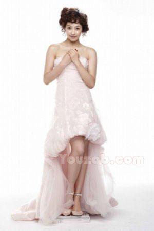 Victoria in Wedding Dress