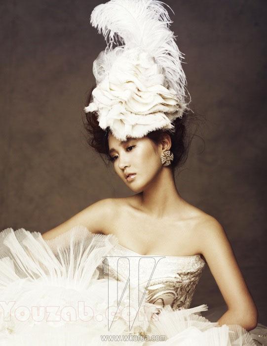 Yuri SNSD in Wedding Dress