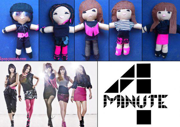 4Minute dolls