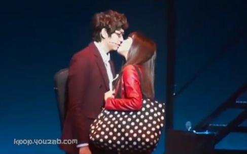 Tiffany Kiss Scene