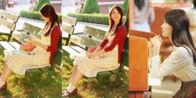 ยุนอากลายเป็นสาวมหาวิทยาลัยแสนสวยไปแล้วในเรื่อง Love Rain