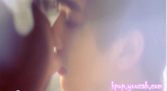 ฉากจูบในMVของยูอีและยูซึงโฮ