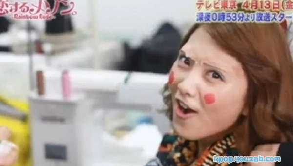 JiYoung KaRa with Funny Make Up