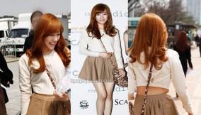 Tiffany at Seoul Fashion Week