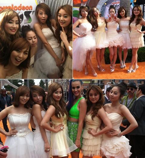Wonder Girls at The 2012 Kids Choice Awards