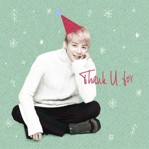 """จุนซูจาก JYJ ปล่อยดิจิตอลซิงเกิ้ลใหม่ต้อนรับคริสต์มาสในเพลง """"Thank U For"""""""