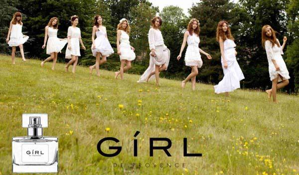 Girls Generation ปล่อย CF กลุ่มและเดี่ยวสำหรับน้ำหอม 'GiRL de Provence'!