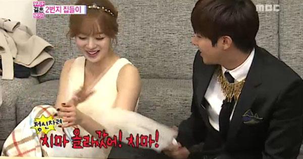 ซีวานและซอนฮวาทำให้กวางฮีหึงอีกครั้งในรายการ We Got Married
