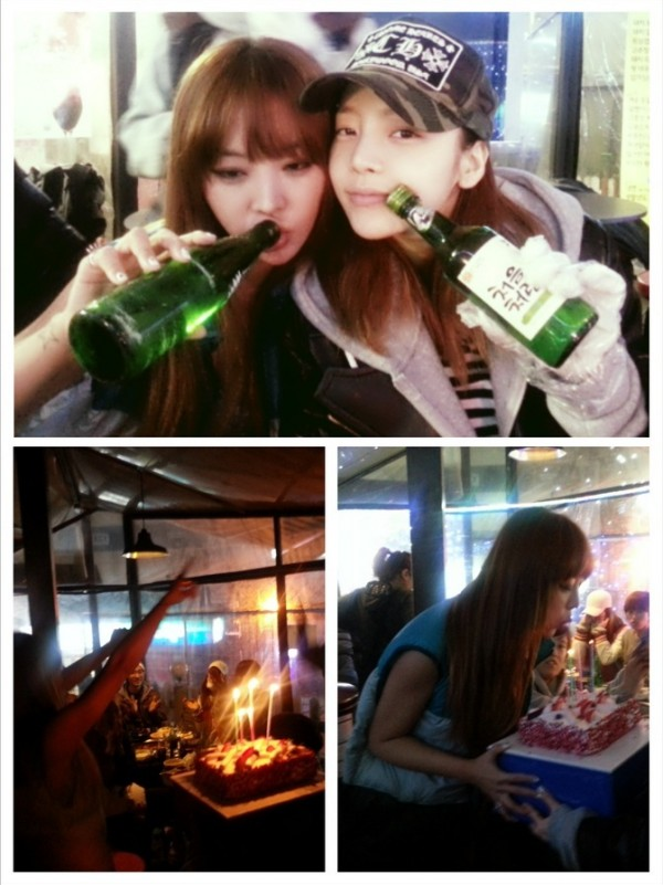 นาร์ชาฉลองวันเกิดของเธอกับกูฮารา, คิมแทอู และคนอื่นๆมากมาย