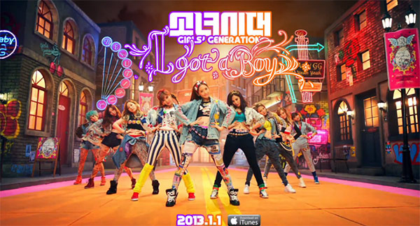 Girls Generation ปล่อยไฮไลท์เมดเลย์สำหรับ 'I Got A Boy'