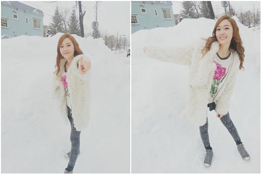 เจสสิก้า SNSD กลายเป็นเจ้าหญิงหิมะอวยพรวันคริสต์มาสให้กับแฟนๆ
