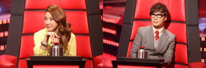 น่าสนุก!!โยซอบ B2ST, ซออินยอง และยุนซาง นั่งเก้าอี้โค้ชในรายการ 'The Voice of Kids'