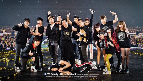 The New York Times เลือก BIGBANG และ 2NE1 ให้เป็น 'Best Concerts of 2012′
