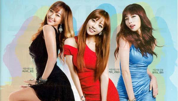 Chum-Churum โซจูเตรียมจะลบวิดีโอ CF สุดเซ็กซี่ของฮยอนอา ,กูฮารา และฮโยริน
