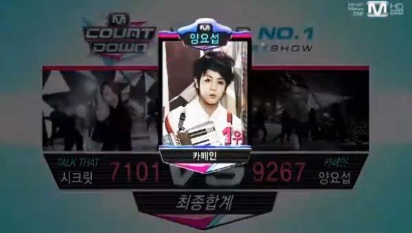 [Live]ผู้ชนะในรายการ M!Countdown ได้แก่...โยซอบ!! + Live วันนี้