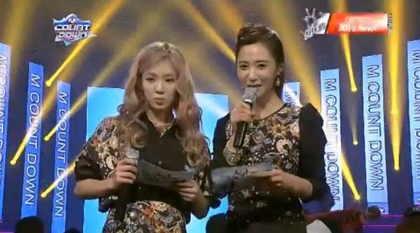 [Live]120103 ผู้ชนะในรายการ M!Countdown ได้แก่..โยซอบ!! + Live วันนี้