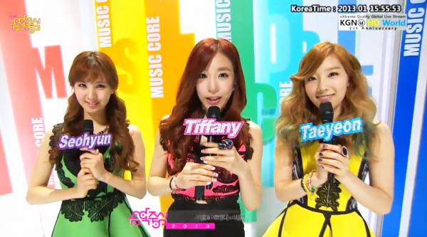 [Live]รวมการแสดงสดในรายการ Music Core 05/01/2013
