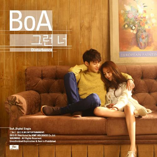 """โบอา (BoA) ปล่อย MV เพลง """"Disturbance"""" MV ที่ได้แทมินจาก SHINee มาร่วมแสดง"""