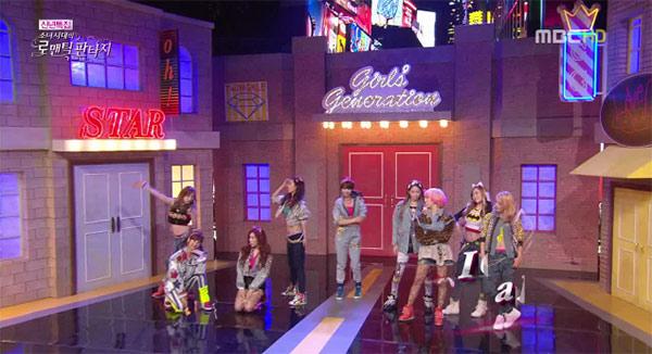 ชมการแสดงของสาวๆโซนยอชิแดในรายการ 'Girls' Generation's Romantic Fantasy'
