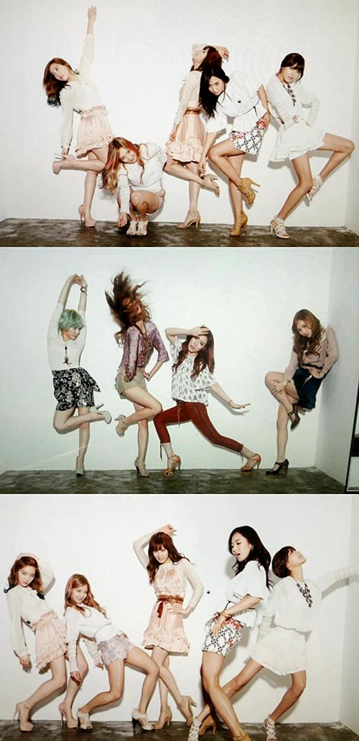 เผยภาพถ่ายเบื้องหลังสุดฮาของสาวๆ Girls Generation
