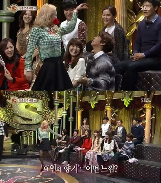 20130126_starking_hyoyeon_kwanghee_dance-2