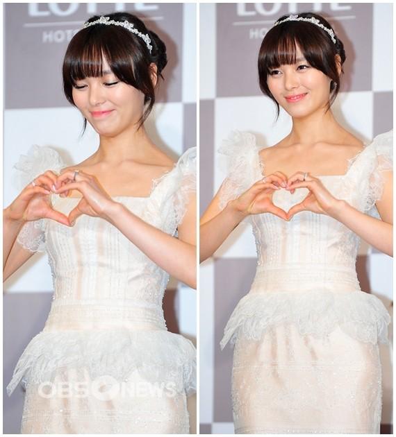 เหล่าดาราศิลปินเข้าร่วมงานแถลงข่าวงานแต่งงานของซอนเย Wonder Girls