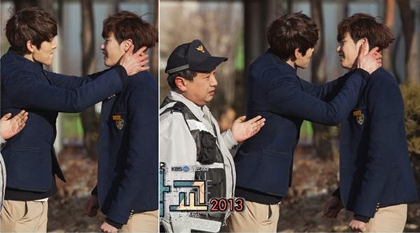 Kim Woo Bin-Lee Jong Suk