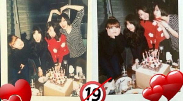 Sulli-Suzy-Sohyun-Jiyoung Birthday